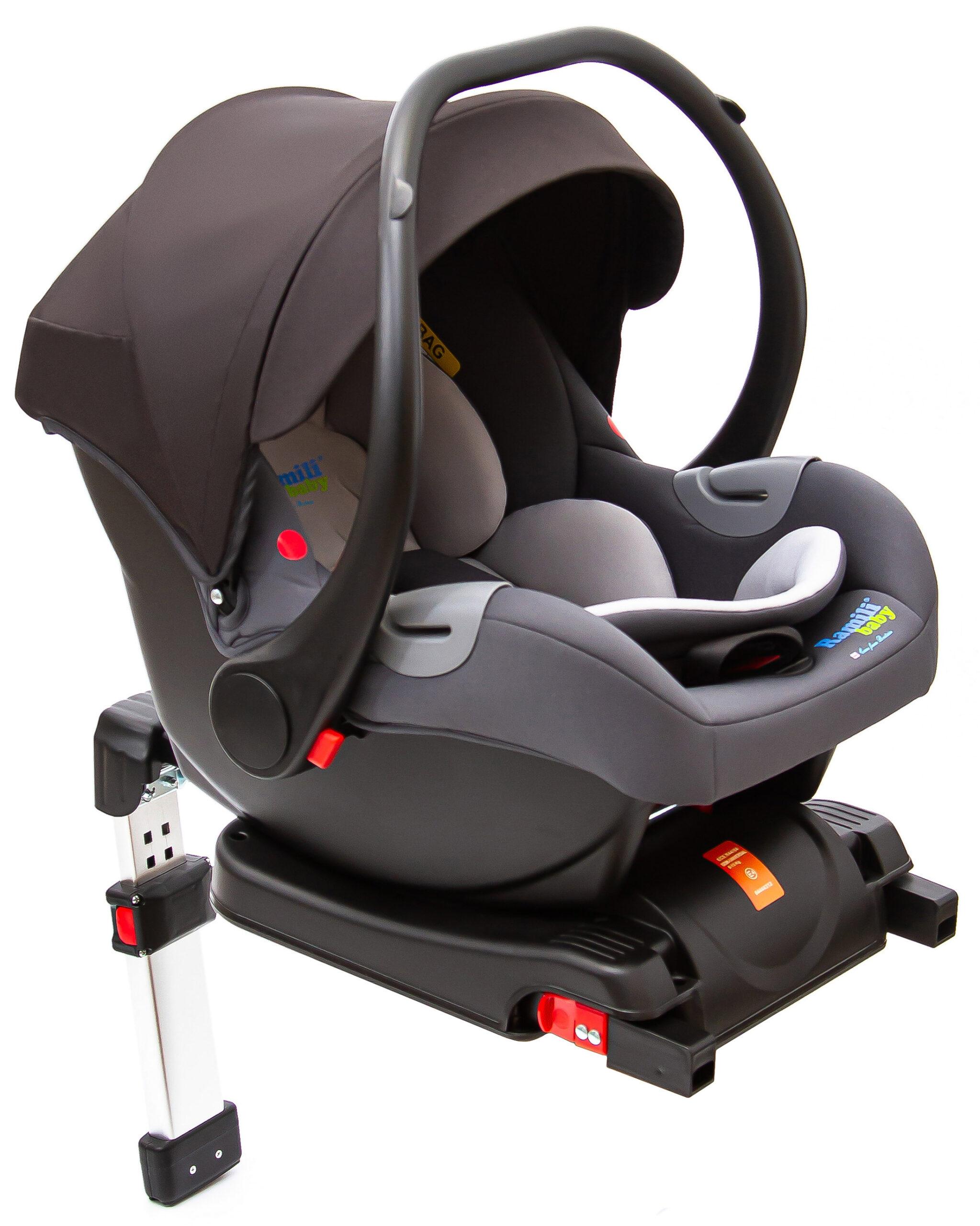 Ramili® Car Seat + Base (BC100B)