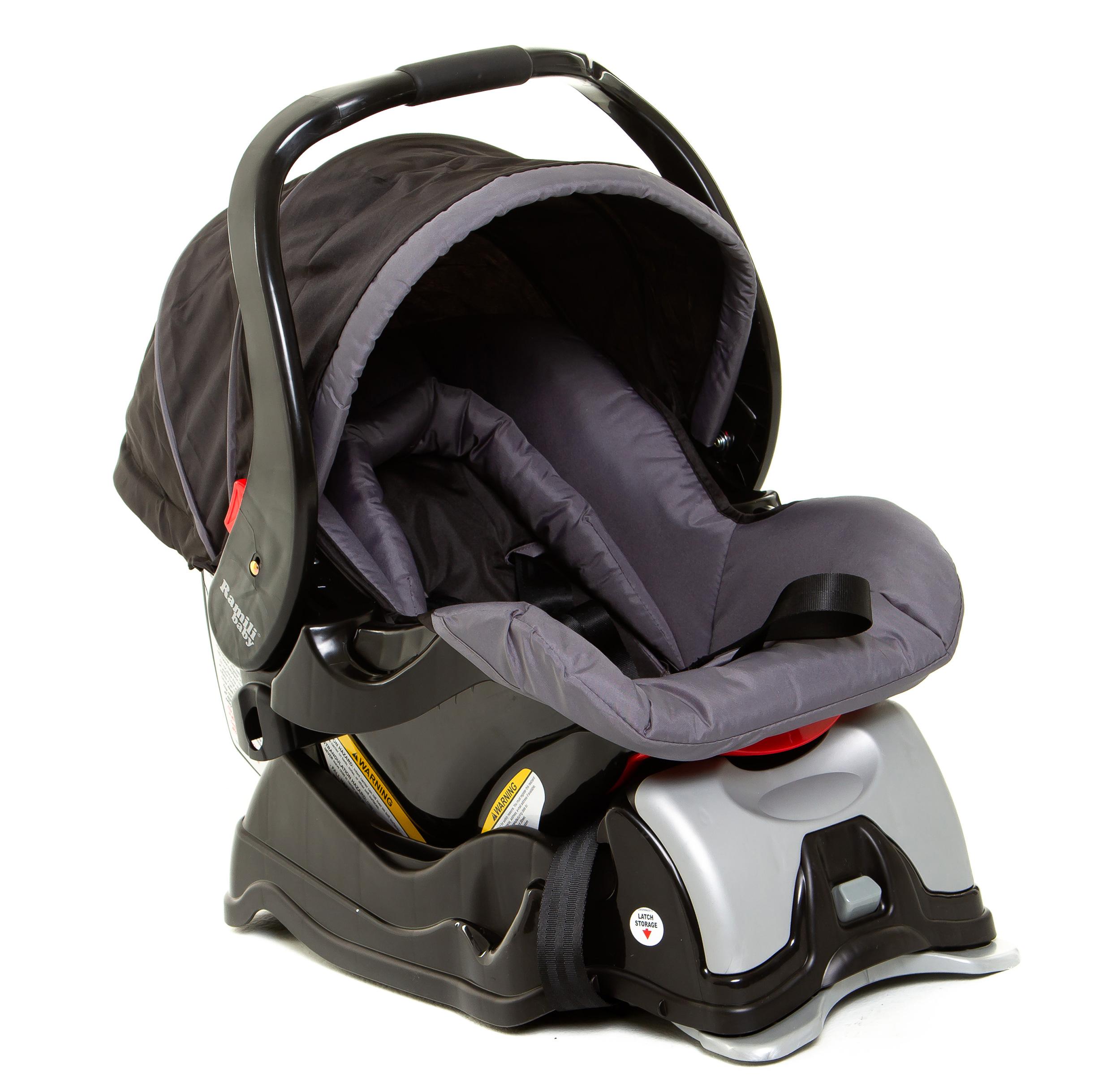 Ramili® Car Seat + Latch Base (BC101B)